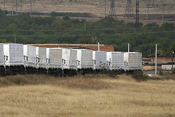 Rossija24: ciężarówki zawróciły z przejścia granicznego z Ukrainą