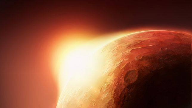 Odkryto jezioro na Marsie. To dowód na obecność trwałego zasobu wody