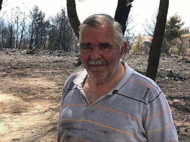 Pożary w Grecji: Kaprys wiatru decydował kto przeżyje, a kto umrze