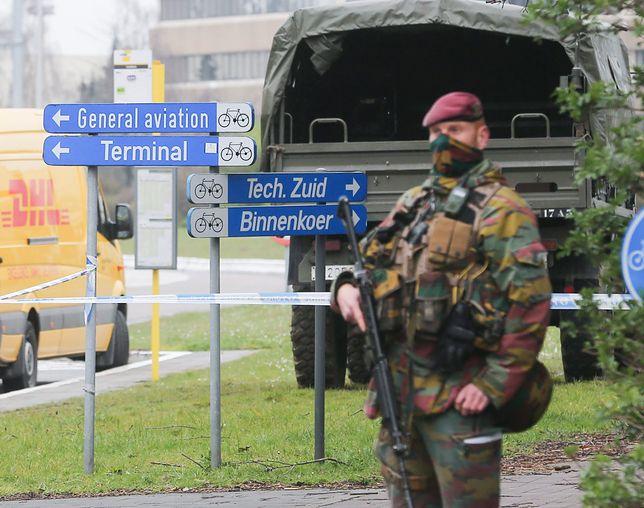 Akcja policji na lotnisku w Brukseli. Wpadł werbownik dżihadystów