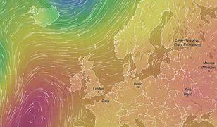 Pogodę w Europie ma w nadchodzących miesiącach kształtować niż, który obecnie znajduje się nad Morzem Norweskim