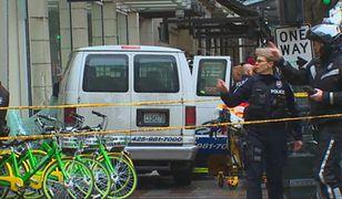 Seattle: kierowca samochodu wjechał w pieszych. Wielu rannych