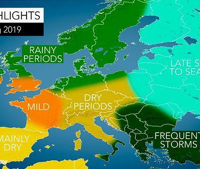 Tak ma wyglądać wiosna w Europie
