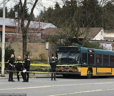 Seattle. Bohaterska postawa kierowcy autobusu uratowała pasażerów