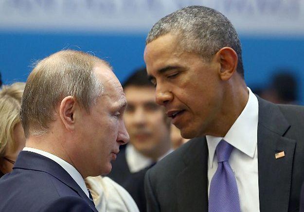 Prezydenci Rosji i Stanów Zjednoczonych Władimir Putin i Barack Obama.