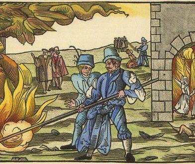 Spalenie wiedźm na stosie w Derenburgu, 1555 r.