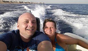 Marcin i Angelika Klis na wakacjach