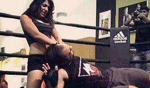 Muzułmanka zawodniczką wrestlingu