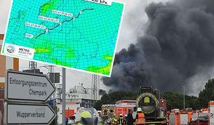 Potężny wybuch w niemieckiej fabryce. Czy skażenie atmosfery dotrze do Polski?