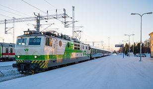 Pasażerowie będą mieć na rozwiązanie zagadki aż 13 godzin. Tyle czasu potrzebuje pociąg, by pokonać 1000 km dzielące Helsinki od Rovaniemi.