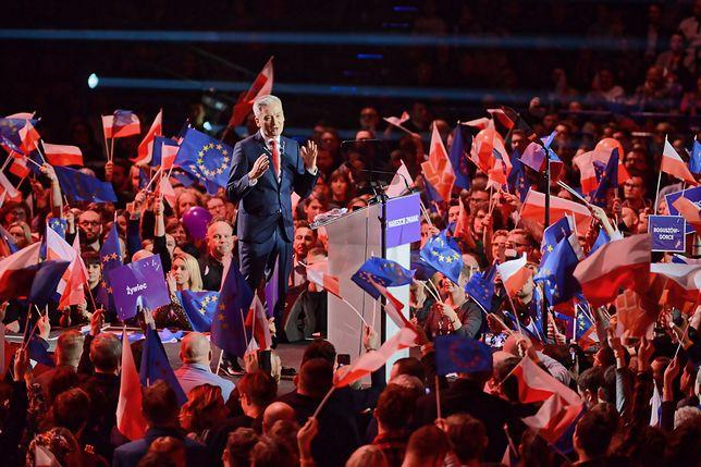 Robert Biedroń zachwycił ludzi obecnych na konwencji