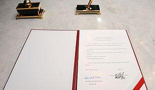 """""""Kara spotka pióro, które odmówiło podpisania traktatu"""""""