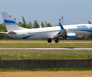 Katowice-Pyrzowice. Na pokładzie samolotu linii Enter Air doszło do usterki