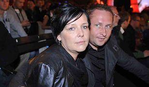 Kamil Durczok i Marianna Dufek. Zdjęcie zrobiono w 2008 r. podczas 45. Sopot Festival