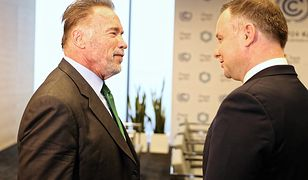 Uścisk gubernatora. Spotkanie Dudy ze Schwarzeneggerem