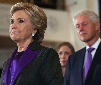 Hillary Clinton ciężko zniosła romans męża