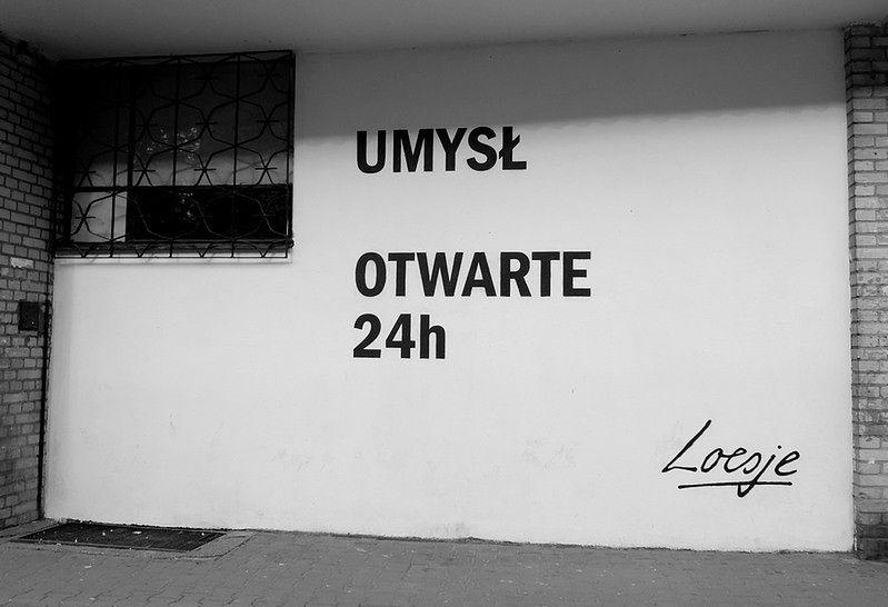 Za darmo: Miasto myśli - warsztaty, happeningi i murale Loesje