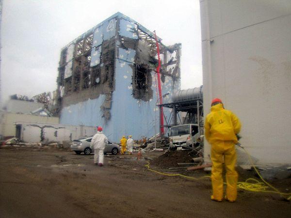 Prace na terenie Fukushimy