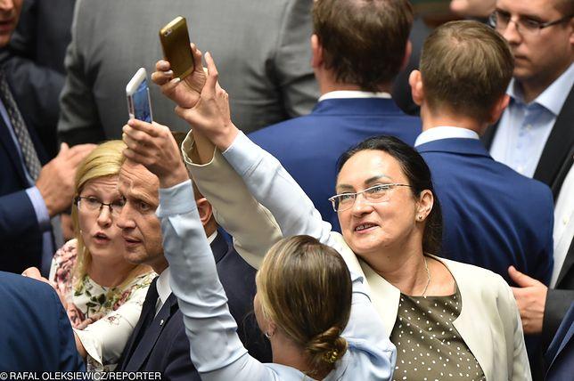 Kinga Gajewska nagrywała Jarosława Kaczyńskiego w otoczeniu polityków PiS
