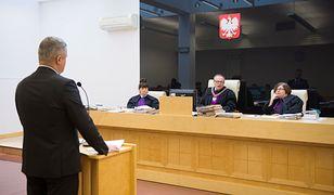 Frankowicz wygrał w sądzie rekordową kwotę od banku. Na fot. jedna z podobnych spraw tocząca się w Łodzi.