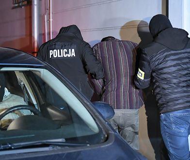Aresztowany Stefan W.