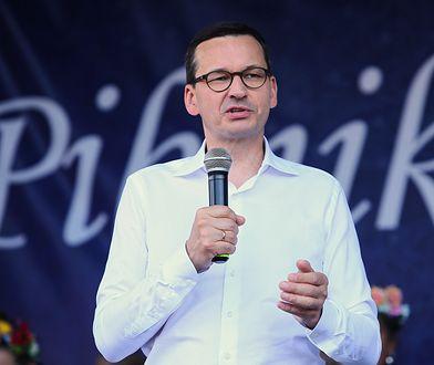 Mateusz Morawiecki w niedzielę przyjechał do Ostrzeszowa