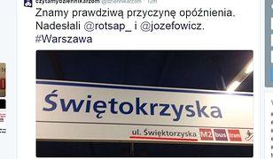 """""""Święktorzyska"""". Nowe tablice w metrze z błędem!"""