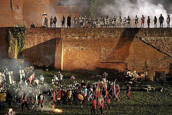 Oblężenie Malborka - zobacz zdjęcia