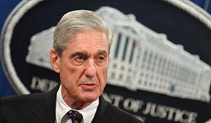 USA. Prokurator Robert Mueller podczas briefingu dla dziennikarzy w Departamencie Sprawiedliwości
