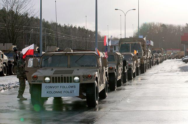 Wpadka wojsk USA. Zablokowali polskie miasto