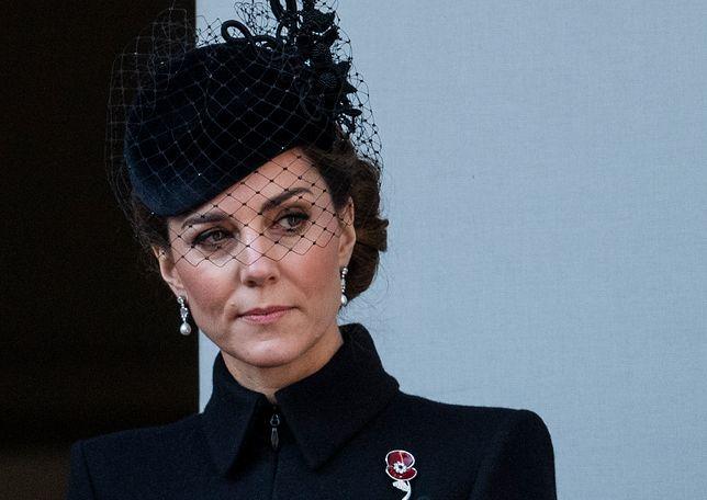 Księżna Kate wyglądała na zmartwioną