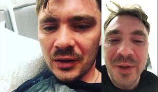 Daniel Martyniuk był poważnie wzburzony w piątkowy wieczór