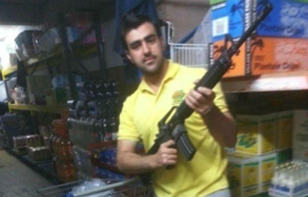 Jeden z zatrzymanych Afgańczyków Hakim Nasiri