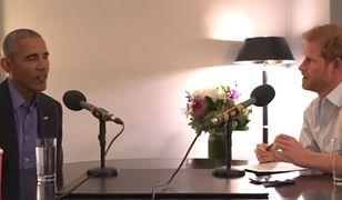 Książę Harry przeprowadził wywiad z Barackiem Obamą
