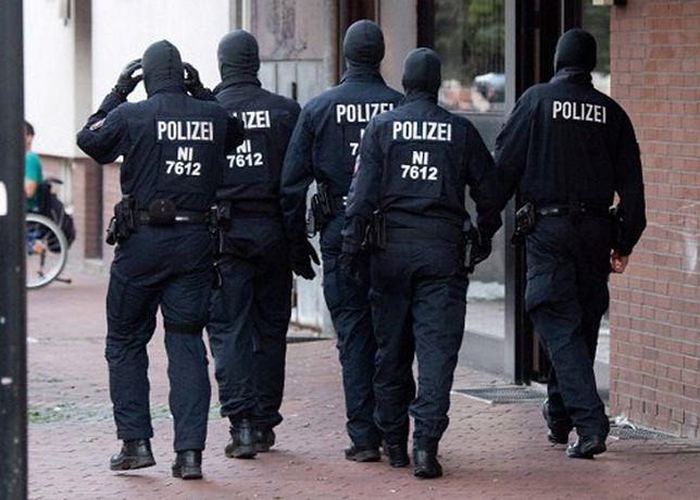 Zamieszki i starcia z policją w Niemczech