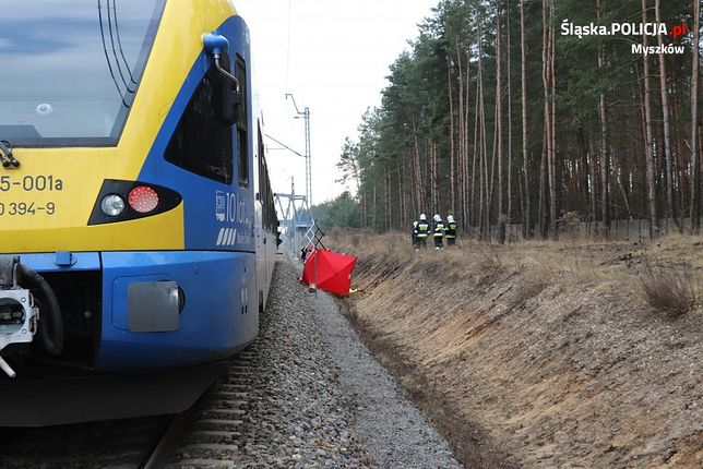 Myszków. 44-latka zginęła potrącona przez pociąg.