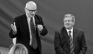 Jan Lityński nie żyje. Były prezydent Bronisław Komorowski wspomina przyjaciela