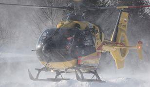 W akcji na Połoninie Caryńskiej bierze udział także śmigłowiec LPR (zdjęcie ilustracyjne)