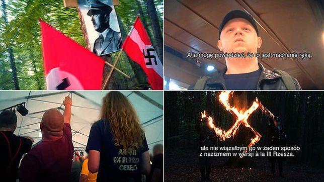 Polscy neonaziści zdemaskowani. Sympatycy PiS widzą w tym spisek