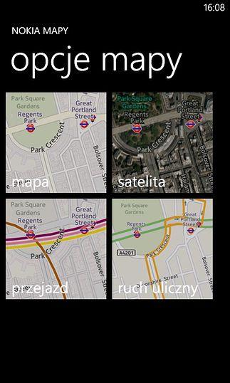 Nokia Mapy