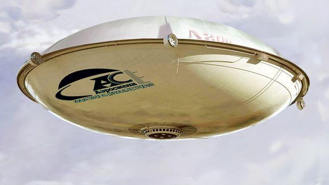 Wizualizacja nowego sterowca  Aerosmena