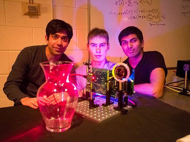 Tania nanokamera nagrywa z prędkością miliardów klatek na sekundę