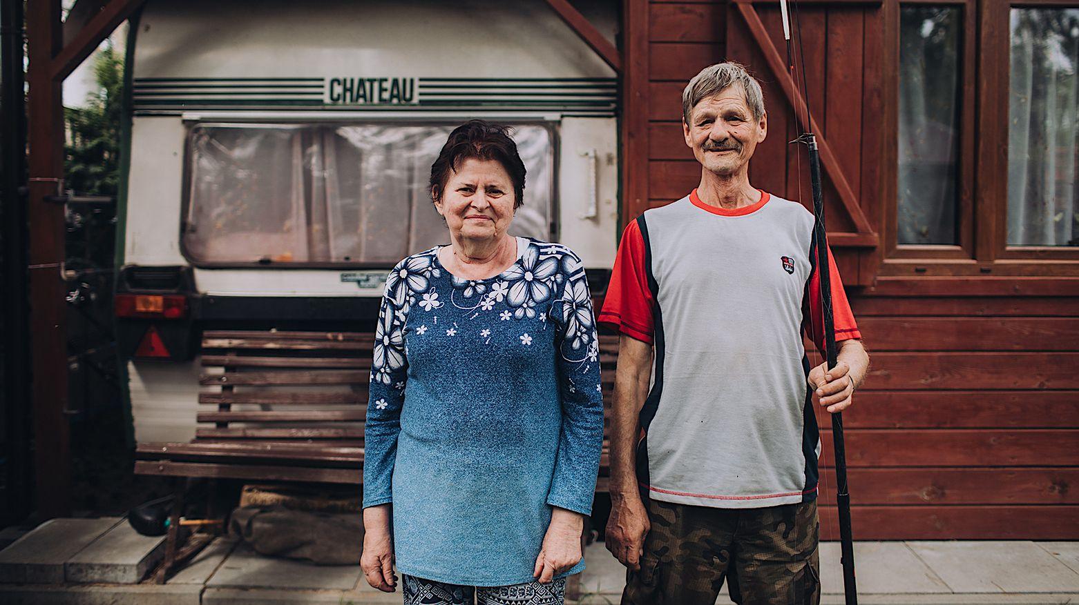 Ośrodek położony jest w Koszelówce, nieopodal Płocka