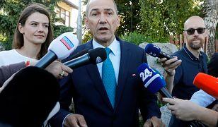 Janez Jansa jest liderem SDS
