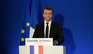 Emmanuel Macron zwycięzcą wyborów prezydenckich we Francji