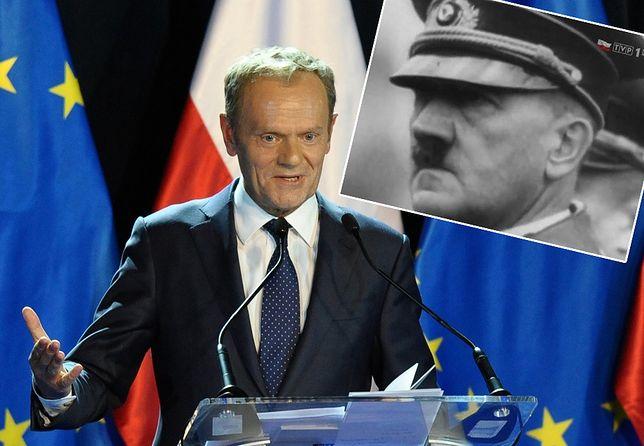 Kim jest Krzysztof Nowina Konopka, dziennikarz z TVP, który powiązał Donalda Tuska z Adolfem Hitlerem.