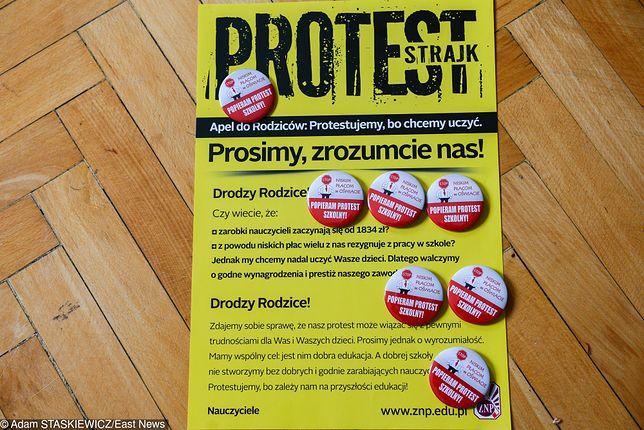 Strajk nauczycieli. Rozpoczęcie planowane jest już na poniedziałek