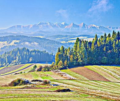 Podhale i Tatry przyciągają przez cały rok niezapomnianymi krajobrazami