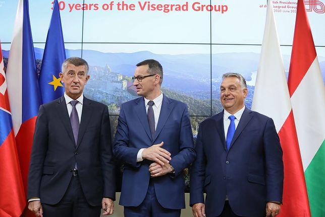 Mateusz Morawiecki, Andrej Babisz oraz Viktor Orban spotkali się z Ursulą von der Leyen