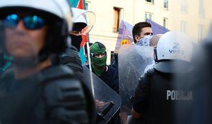 Policja zatrzymała jednego z uczestników marszu